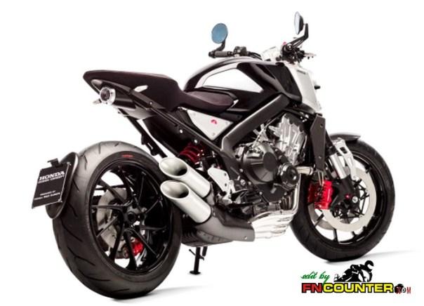 Honda CB4 Concep Side Look