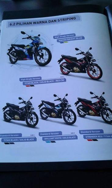 All New Satria F150 FI 5