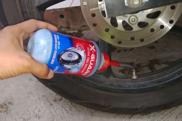 cairan ban tubeless anti bocor