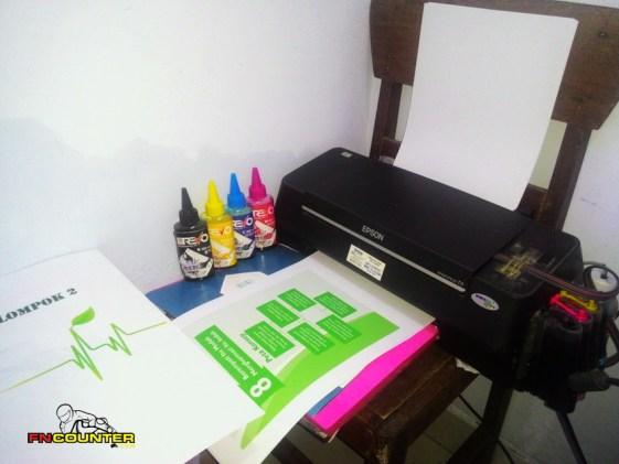 Print Tes SUN REVO INK