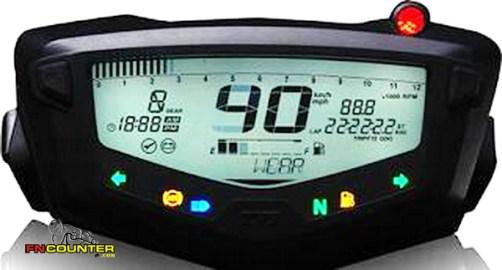 TVS Apache RTR 200 4V Speedometer