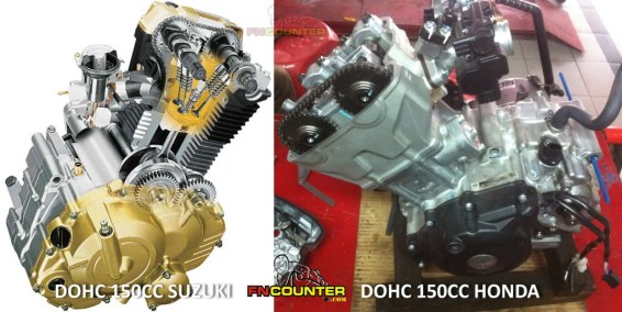 DOHC Engine honda suzuki