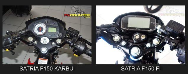 Dashboard Speedo Satria Karbu-Injeksi