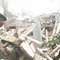 Pesawat Jatuh Blimbing Malang 2