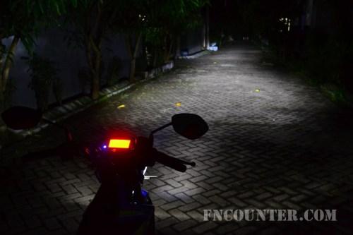 All New Satria FU FI - Headlight High Beam 2