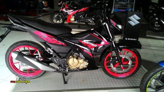 All New Suzuki Satria FU 150 Malang
