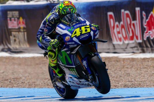 Rossi winglet jerez yamaha