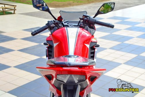 all new CBR150R AHRT sisi belakang