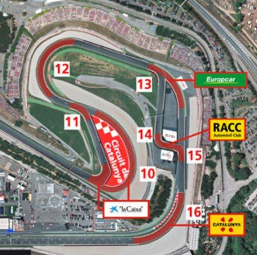 catalunya circuit 2016 map
