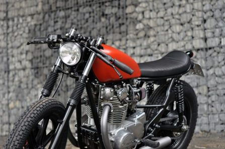 Yamaha XS650 Modif Cafe Racer
