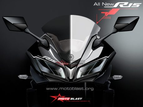 render all NEW Yamaha R15