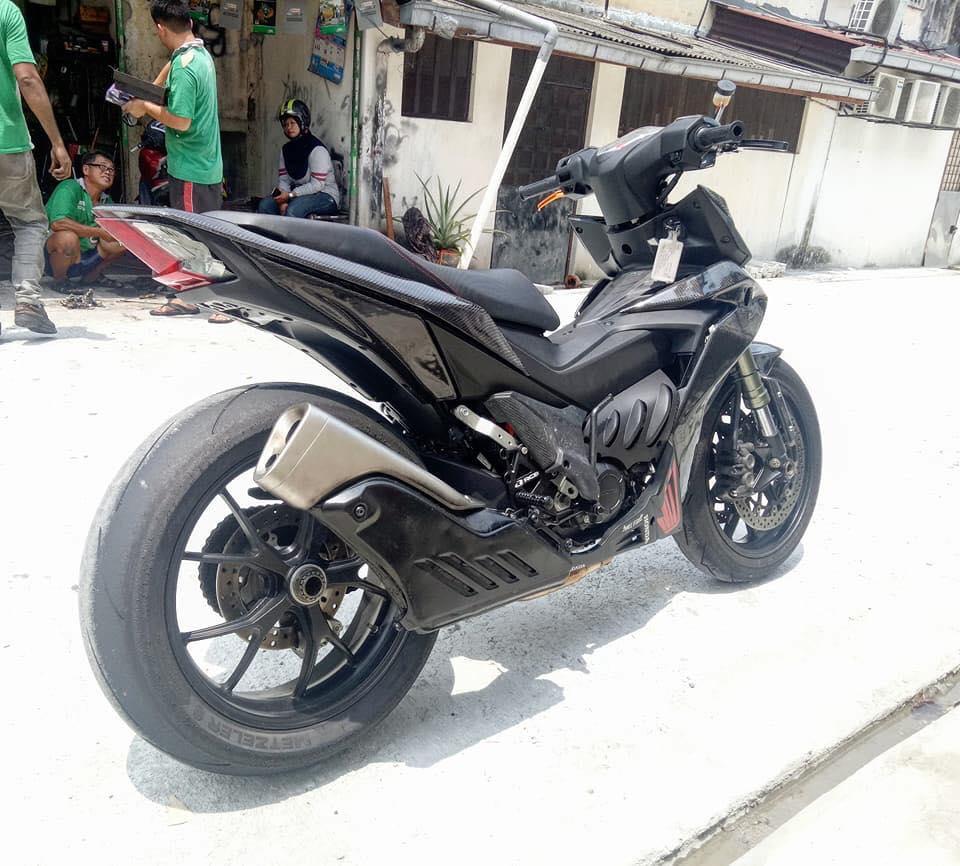 Modifikasi Big Bike Look Honda Supra GTR150 Menjadi Lebih Garang