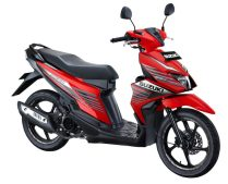 Suzuki NEX II Sporty Runner Stronger Red 2
