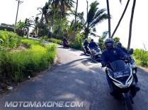 gathering blogger vlogger mpm bali - PCX tour2