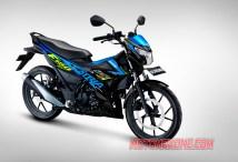 2021 SATRIA F150 TITAN BLACK - MET.TRITON BLUE SUZUKI MOTOMAXONE BLOG
