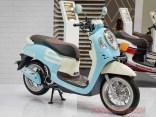 Modifikasi All New Honda Scoopy 2021 Sky Blue Makin Fashionable
