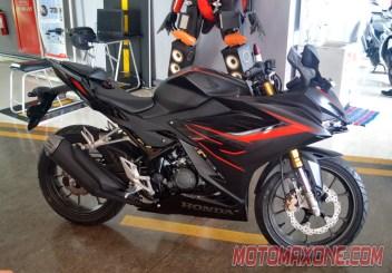 First Ride All New Honda CBR150R 2021 dominator black