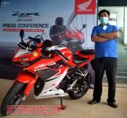 First Ride All New Honda CBR150R 2021 motomaxonecom