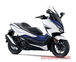 MotomaxoneCom Honda Forza Pearl Horizon White