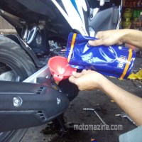 Review Pelumas BM1 Synthetic Oil Matic SAE 10W-40.. Mesin Halus Tarikan Yahuuud...!!!