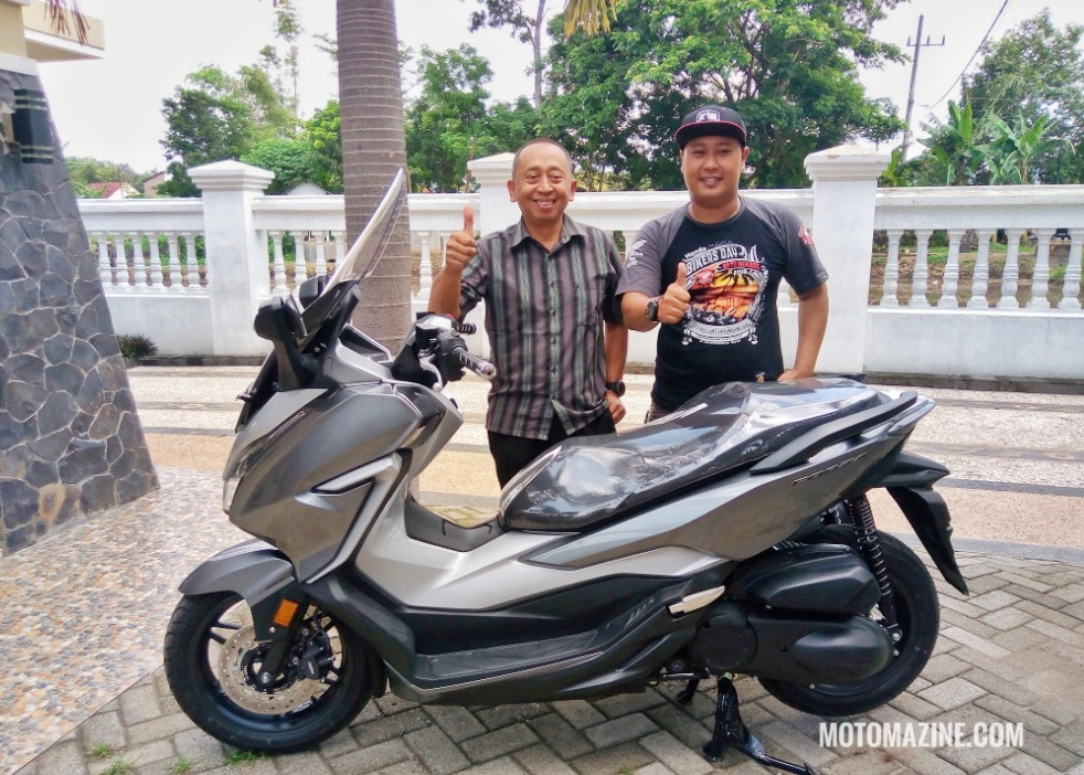 First owner Honda Forza 250 Ponorogo
