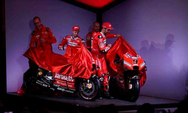 launching ducati gp19