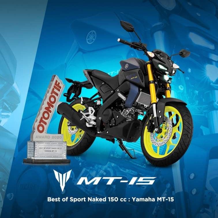 Yamaha MT-15 - Best of Sport Naked 150cc