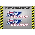2-pegatinas-27-stoner-dorsales Vinilos de dorsales para motos