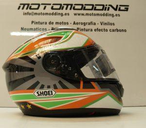 Vinilamos motos, cascos y carenados de motos de competición