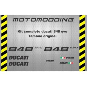 juego-completo-vinilos-ducati-848-evo Adhesivos Ducati,Pegatinas exclusivas de Ducati o para Ducati, Vinilos para llantas Ducati, Pegatinas Ducati Corse y una gran variedad de adhesivos para motos Ducati Monster 696, 796, 1100 y 1100Evo