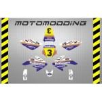 kit-pegatinas-malcor-racer-honda-rothmans-crf70-1 Adhesivos y pegatinas para Pit Bikes nuevas!! Envíos gratuitos