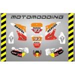 pegatinas-honda-cr-85-replica-marc-marquez Adhesivos y pegatinas para Pit Bikes nuevas!! Envíos gratuitos