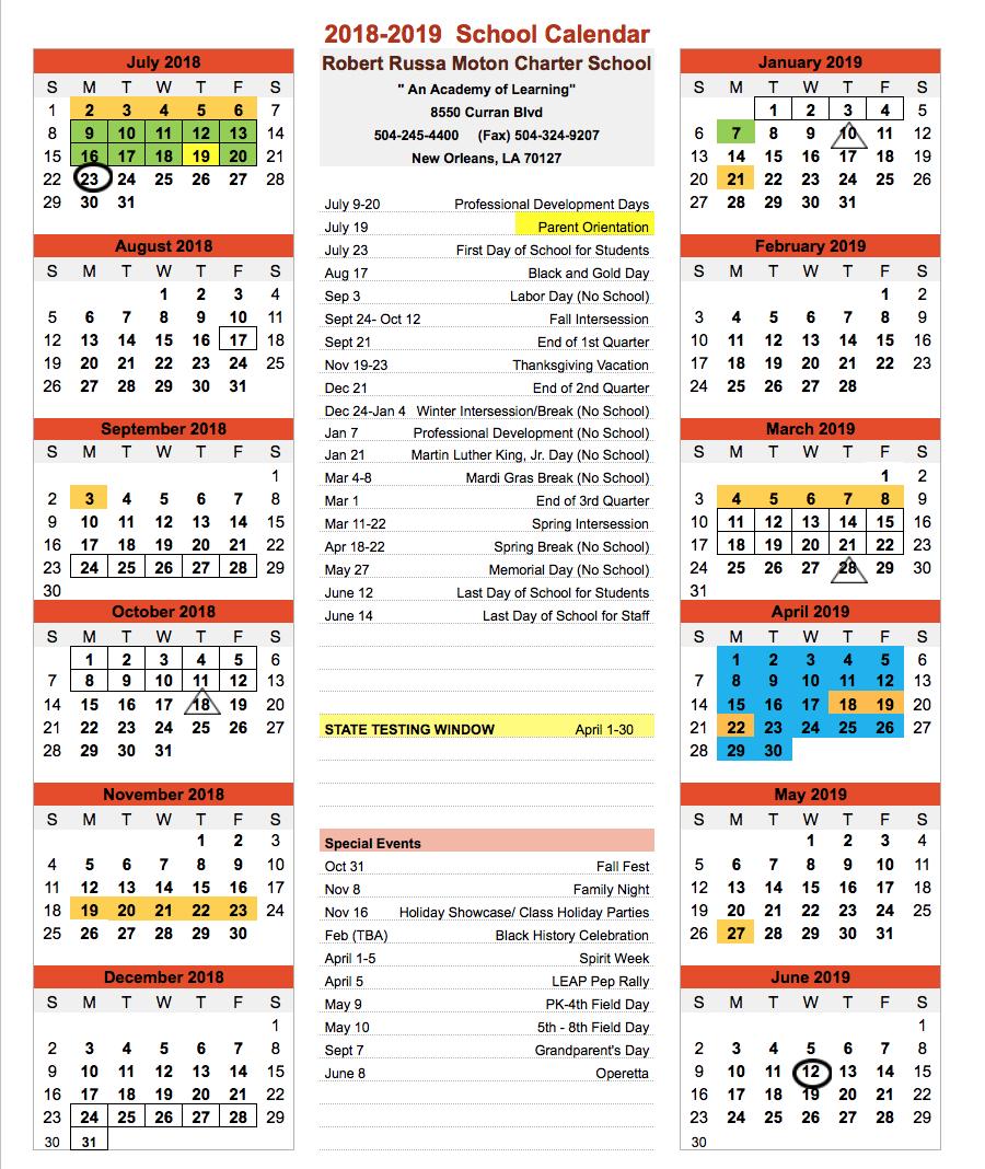 Modern 2019 2020 Mid Year Diary: Robert Russa Moton Charter School