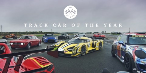 evo Track car of the year 2016 video