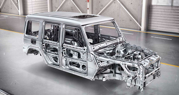 mercedes benz g-class chassis