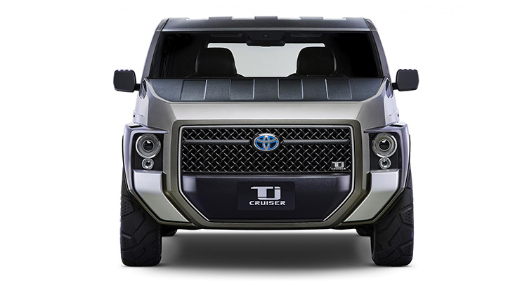toyota tj cruiser concept front