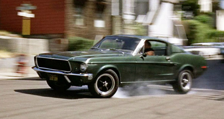 Ford Mustang from bullit