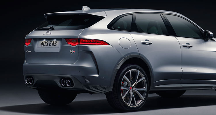 Jaguar F Pace Rear 2
