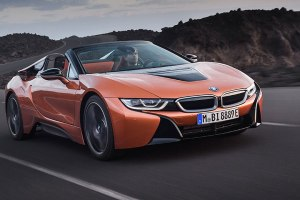 BMW i8 Convertible front side 3 FEATURE