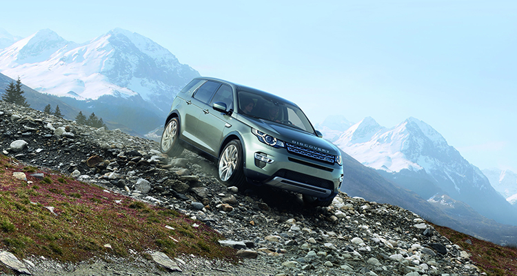 Land Rover Discovery Sport old model front side 2