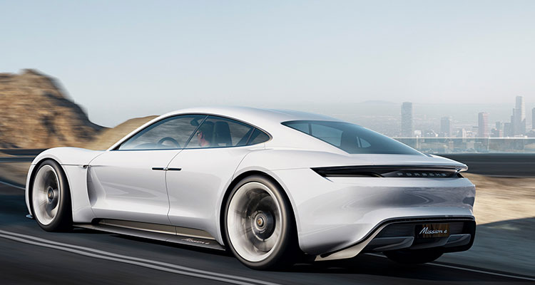 The All New Electric Porsche Taycan 5