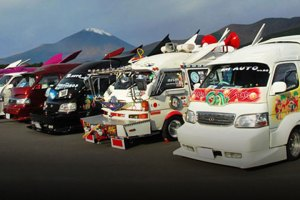 Japanese Vanning feature