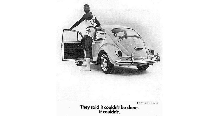 The Crazy VW Ads Of The 60s 1