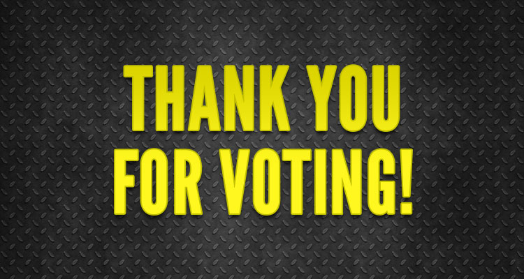 community vote thank you for voting