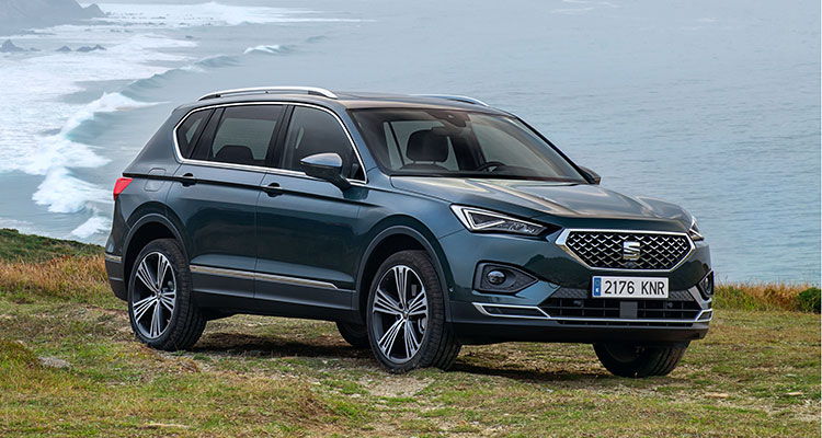 SEAT Tarraco 2019 front side 1