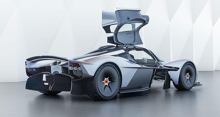 Aston Martin Valkyrie rear side 1