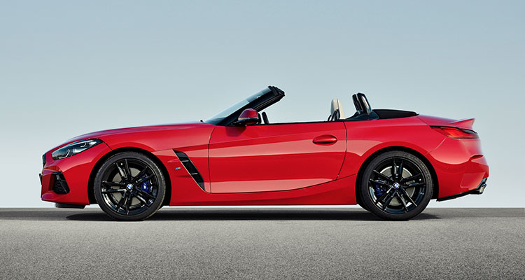 New BMW Z4 side 2