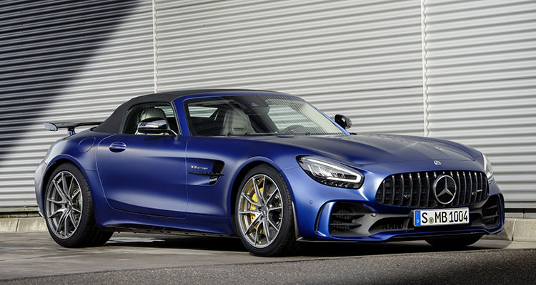 New Mercedes AMG GT R Roadster 3