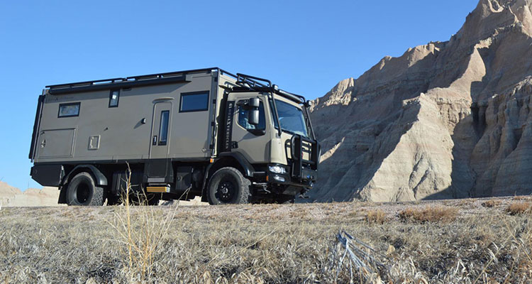 GXV Patagonia Extreme Off-Road Motorhome 6