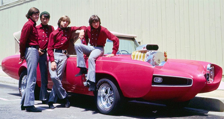 Monkeemobile the monkees Pontiac GTO 1